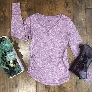 Liz Lange Maternity Knit Long Sleeve Shirt